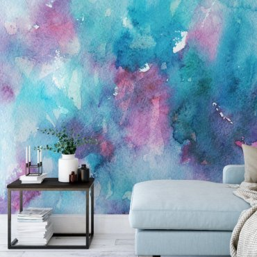 Tapeta na ścianę - MARINE-PINK ART