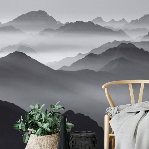 Tapeta na ścianę - MISTY MOUNTAINS