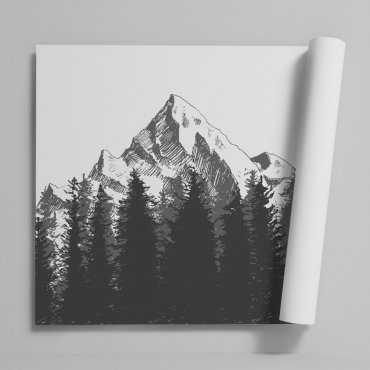 Tapeta na ścianę - MOUNTAINS DESTINY