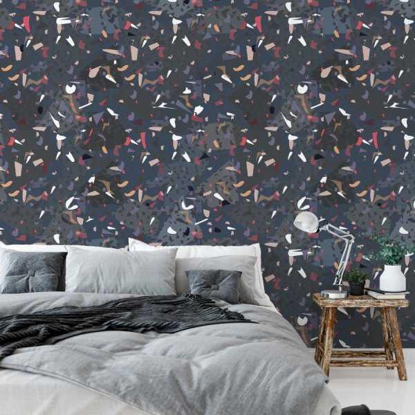 Tapeta na ścianę - Shadow Mosaic