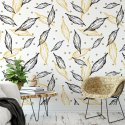 Tapeta na ścianę - YELLOW LEAVES