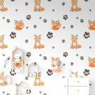 Tapeta dziecięca - FOXY STAMP