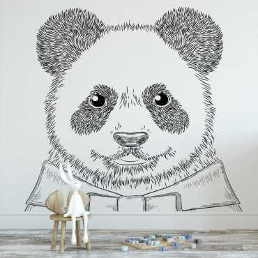 Tapeta dziecięca - GENTLE PANDA