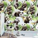Tapeta dziecięca - PANDA IN TROPICS