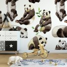 Tapeta dziecięca - HUNGRY PANDA