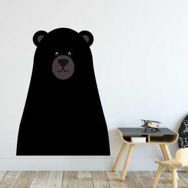 Naklejka na ścianę - BLACKBEAR