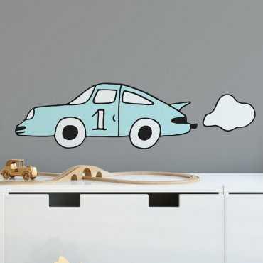 Naklejka na ścianę - RACING CAR