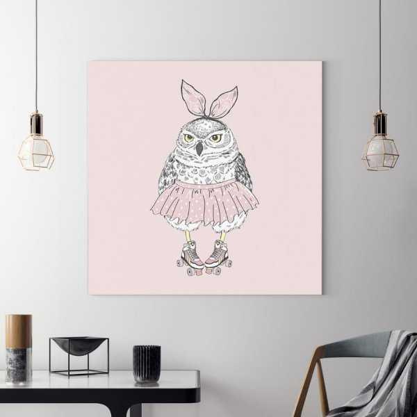 Obraz na płótnie - CUTE OWL