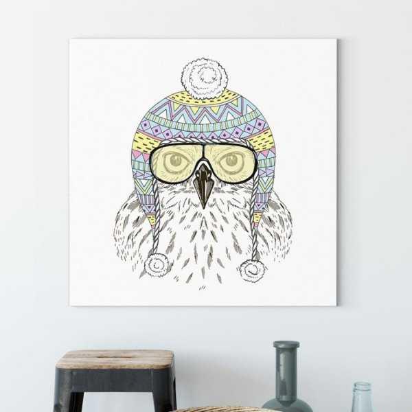 Obraz na płótnie - PILOT OWL