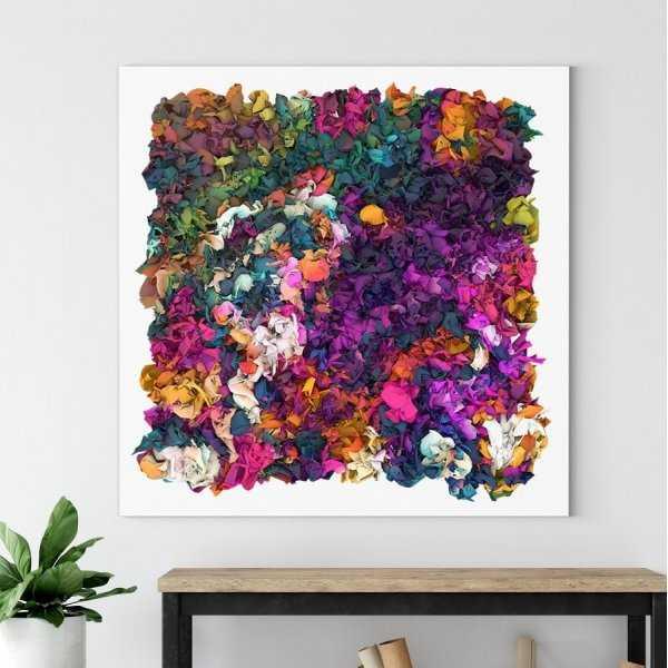 Obraz na płótnie - RAINBOW WATERFALL