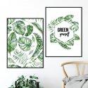 Zestaw dwóch plakatów - GREEN YOURSELF