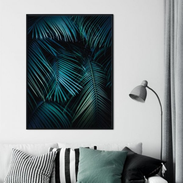 Plakat w ramie - PALMS NIGHT