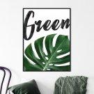 Plakat w ramie - GREEN