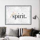 Plakat w ramie - FREE SPIRIT