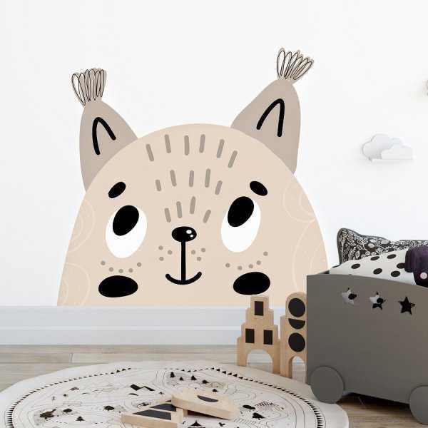 Naklejka na ścianę - PRETTY KITTY