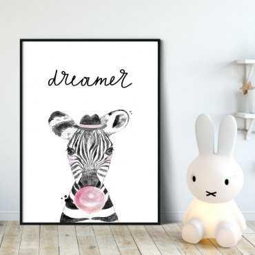 Plakat dla dzieci - DREAMER