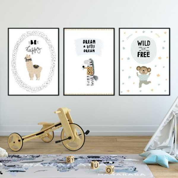 Zestaw plakatów dziecięcych - LITTLE DREAMER