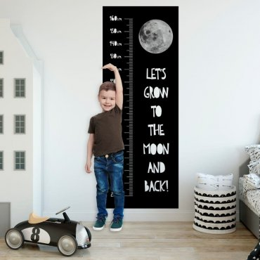 Miarka wzrostu - TO THE MOON AND BACK!