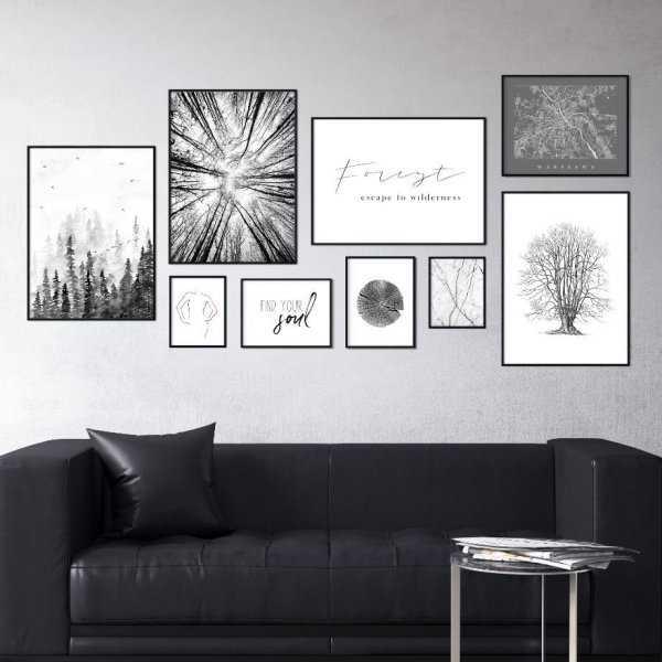 Galeryjka plakatów - WOODY INTERIOR