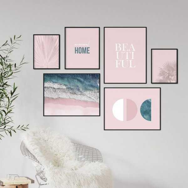Galeryjka plakatów - MINIMAL PINK