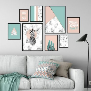 Galeryjka plakatów - PASTEL VIBES