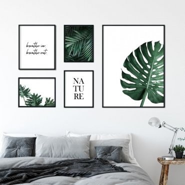 Galeryjka plakatów - BREATHING MONSTERA
