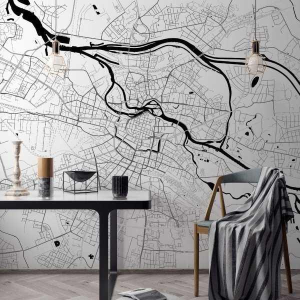 tapeta z mapą wrocławia