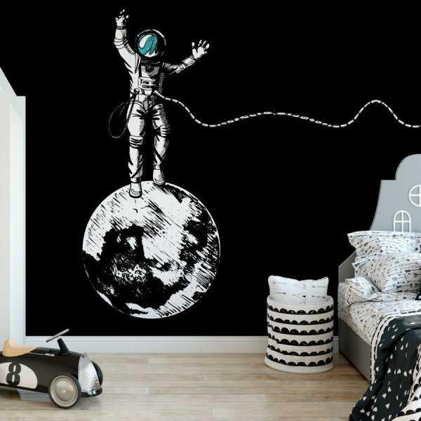 Astronaut on tour tapeta na ścianę