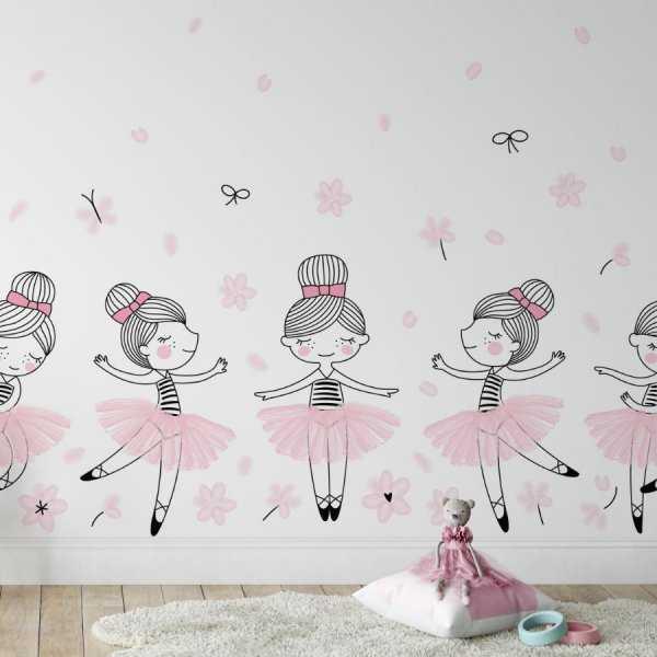 Ballerina dance tapeta dla dziewczynek