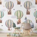 Friendly balloons tapeta dla dzieci