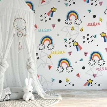 rainbow madness tapeta dla dzieci