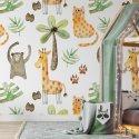 tropical kingdom tapeta dla dzieci