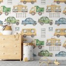 vehicle world tapeta dla dzieci