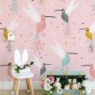 crowny birds - tapeta na ścianę