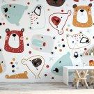 dotty bears tapeta dla dzieci