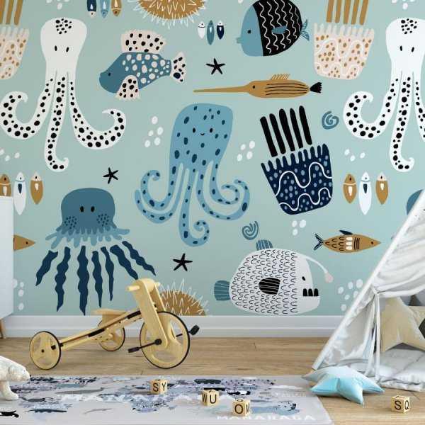 precious underwater tapeta dla dzieci