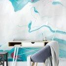 tapeta na ścianę abstract azure