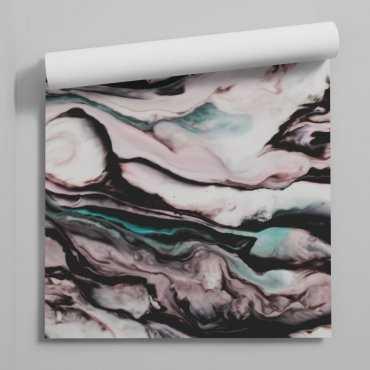 tapeta na ścianę abstract design eye