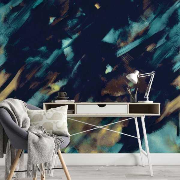 tapeta na ścianę abstract imagination