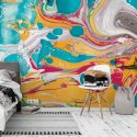 tapeta na ścianę abstract mango marble