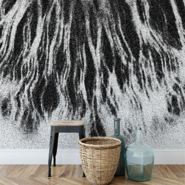 tapeta na ścianę abstract roots