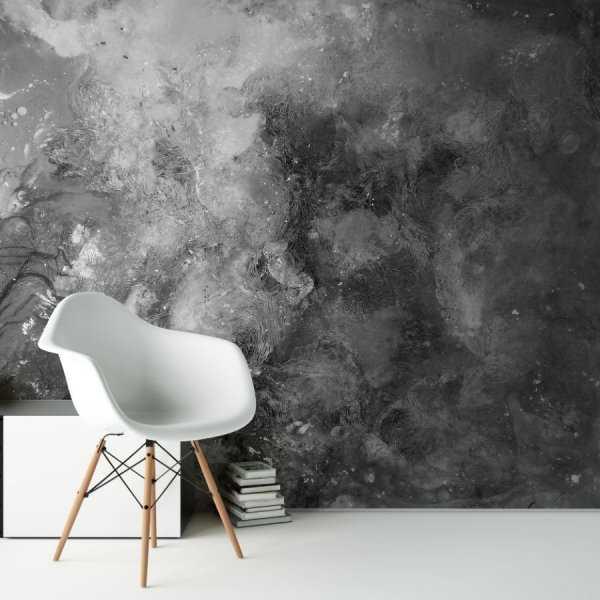 abstract shadow painting tapeta na ścianę