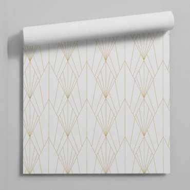 art deco grace tapeta geometryczna