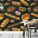 bakery wall tapeta do kuchni