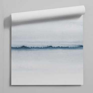 tapeta na ścianę blue line