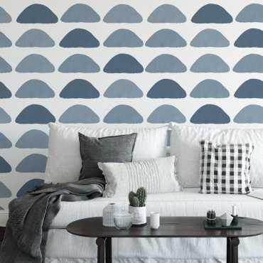 tapeta na ścianę blue peaks