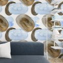 tapeta na ścianę bluebrown art
