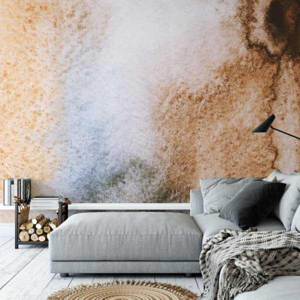 tapeta na ścianę brownie art