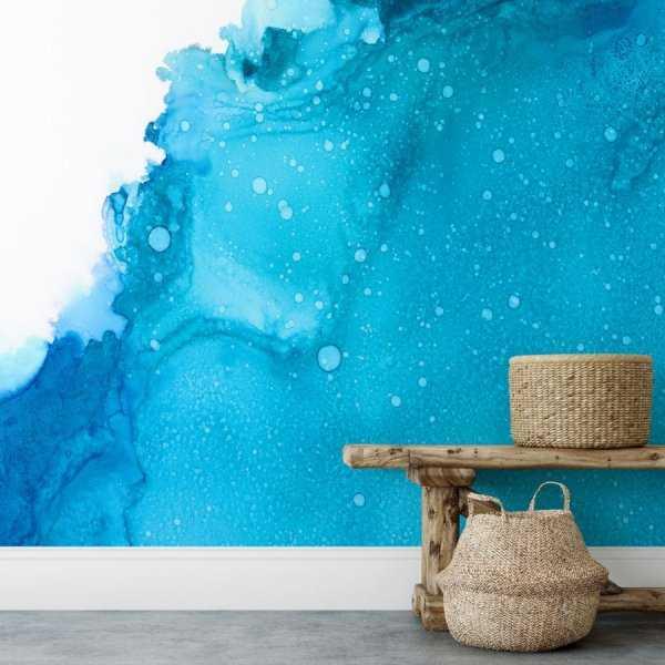tapeta na ścianę bubble wave