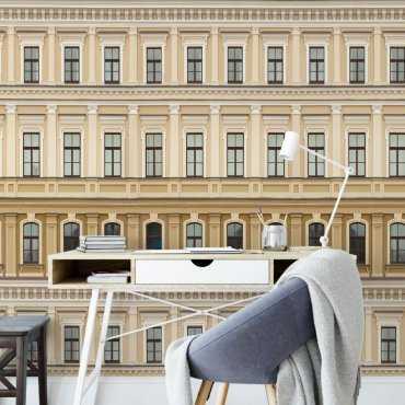 tapeta na ścianę classic facade